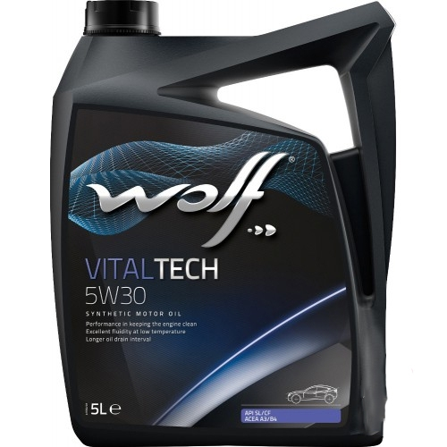 Моторное масло Wolf Vital Tech 5W-30 5л