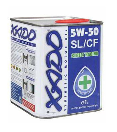 Моторное масло Xado Atomic Oil 5W-50 1л