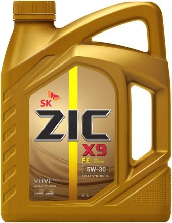 Моторное масло ZIC X9 FE 5W-30 4л