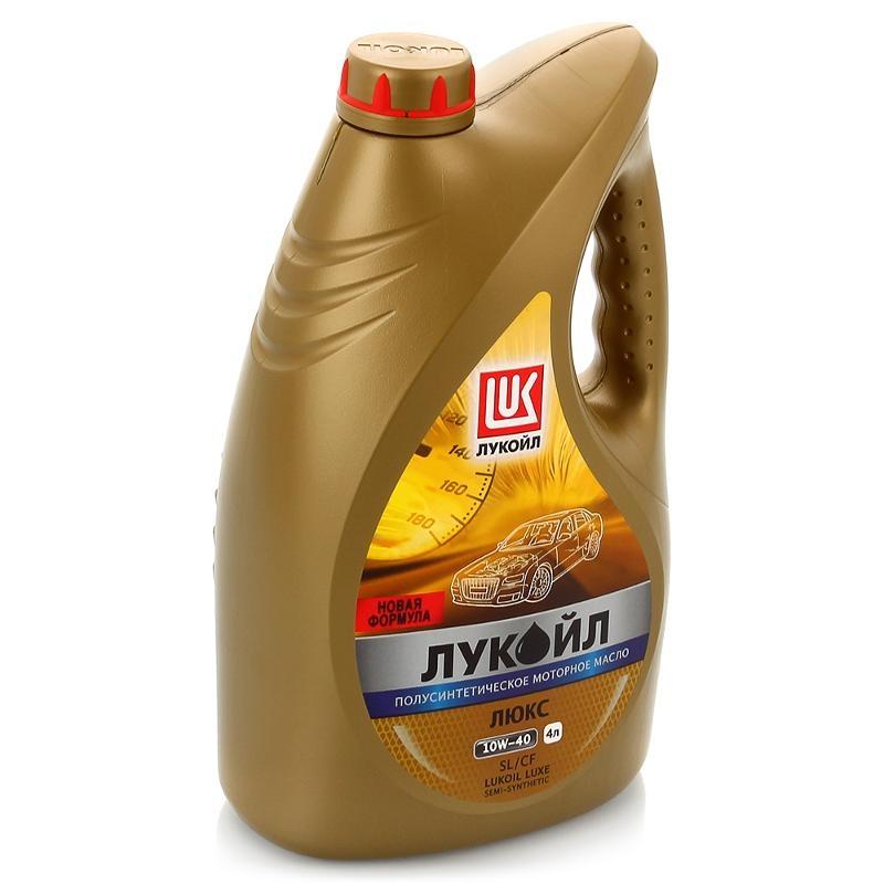 Моторное масло Лукойл Люкс 10W-40 4л