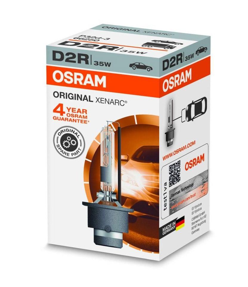 Лампа ксеноновая Osram Original Xenarc D2R 1шт