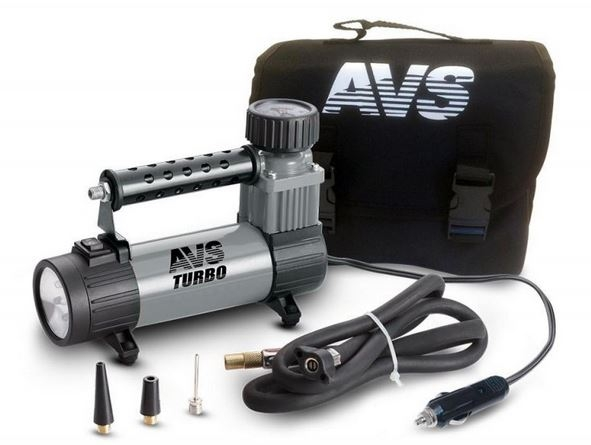 Автомобильный компрессор AVS Turbo KS 350L