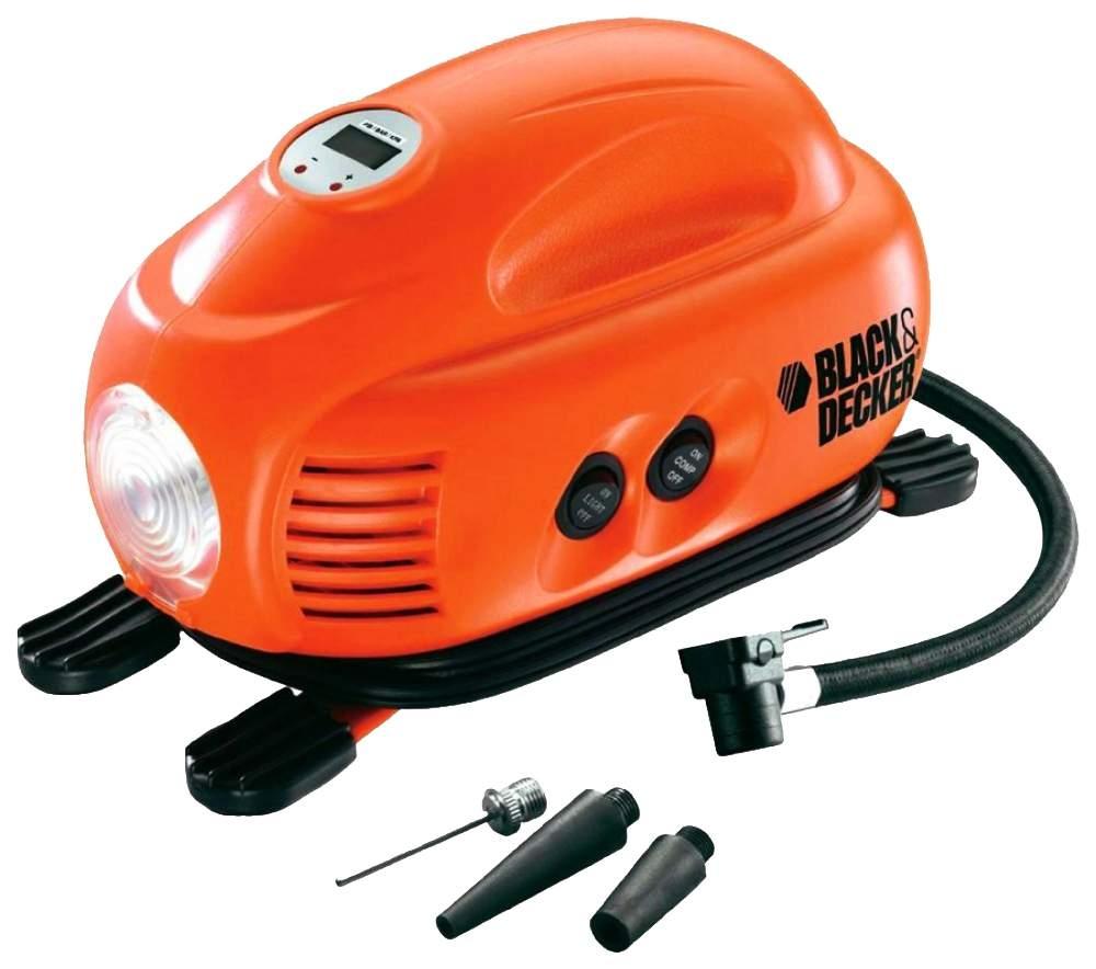 Автомобильный компрессор Black&Decker ASI200