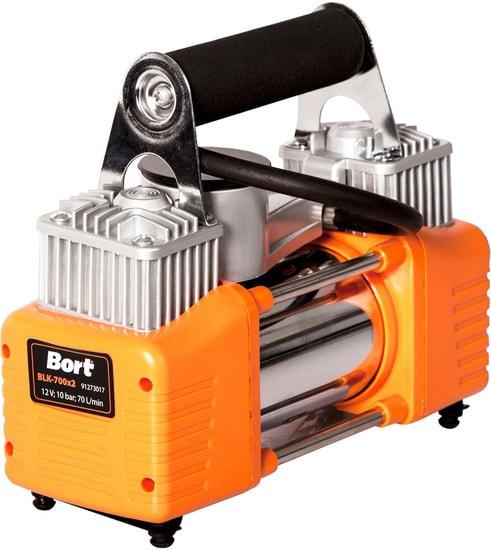 Автомобильный компрессор Bort BLK-700x2