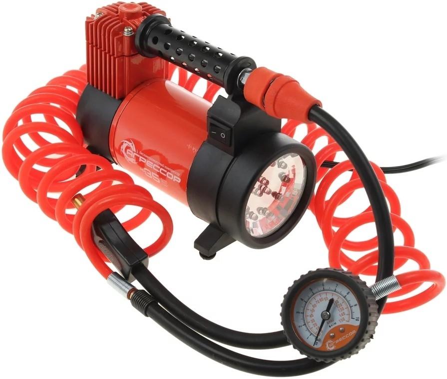 Автомобильный компрессор Агрессор AGR 35L