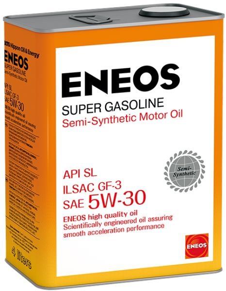 Моторное масло Eneos Super Gasoline 5W-30 4л