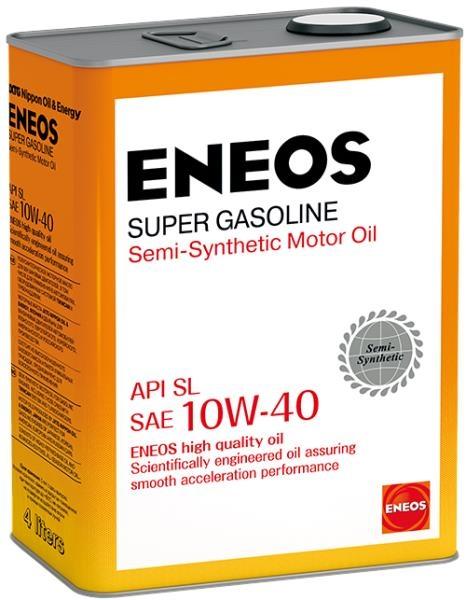 Моторное масло Eneos Super Gasoline SL 10W-40 4л