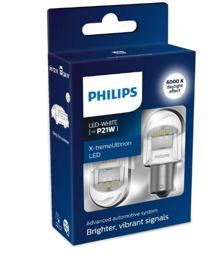 Лампа светодиодная P21W Philips X-tremeUltinon LED gen2 2шт