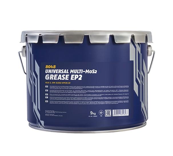 Смазка Mannol EP-2 Universal Multi-MoS2 Grease 9кг