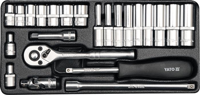 Универсальный набор инструментов Yato 23 предмета YT-14421