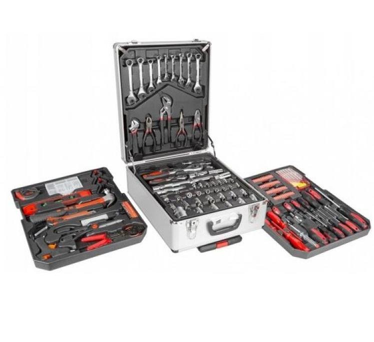 Универсальный набор инструментов WMC Tools 186 предметов WMC186