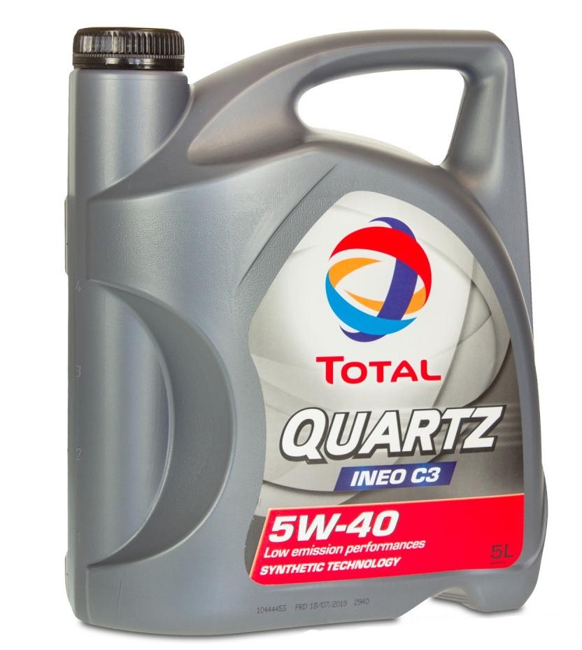 Моторное масло Total Quartz Ineo C3 5W-40 5л