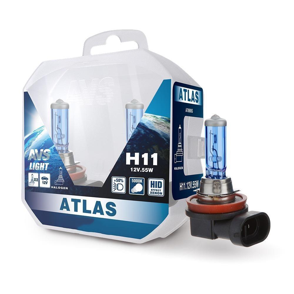 Лампа галогенная AVS Atlas PB H11 2шт