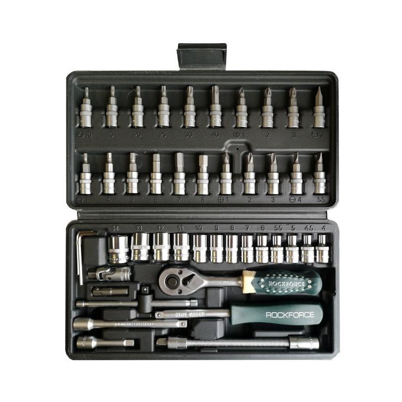 Универсальный набор инструментов RockForce 46 предметов 2462-5