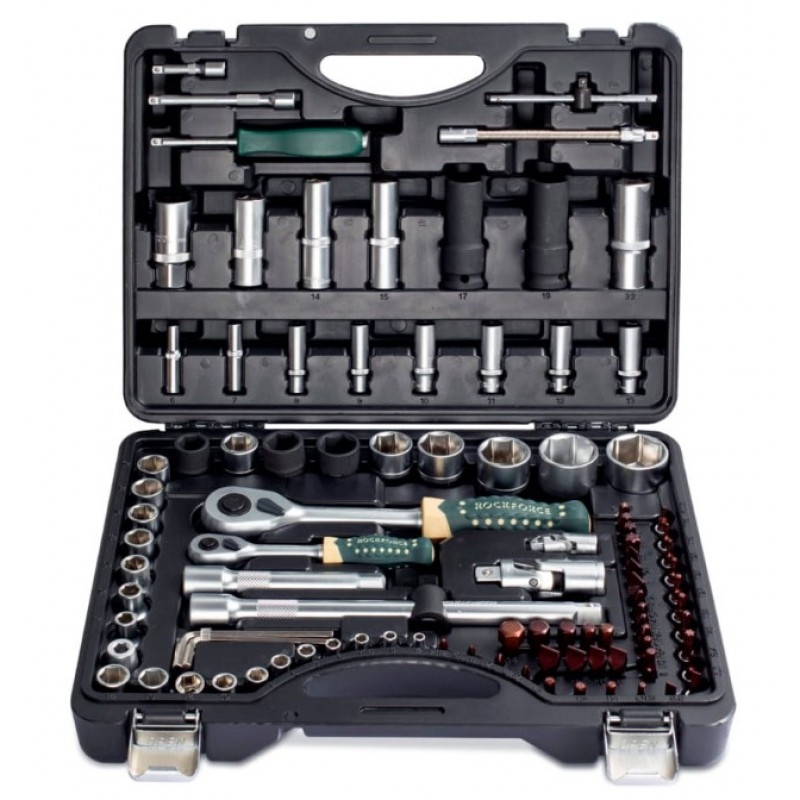 Универсальный набор инструментов RockForce 100 предметов RF-4941-5 PREMIUM
