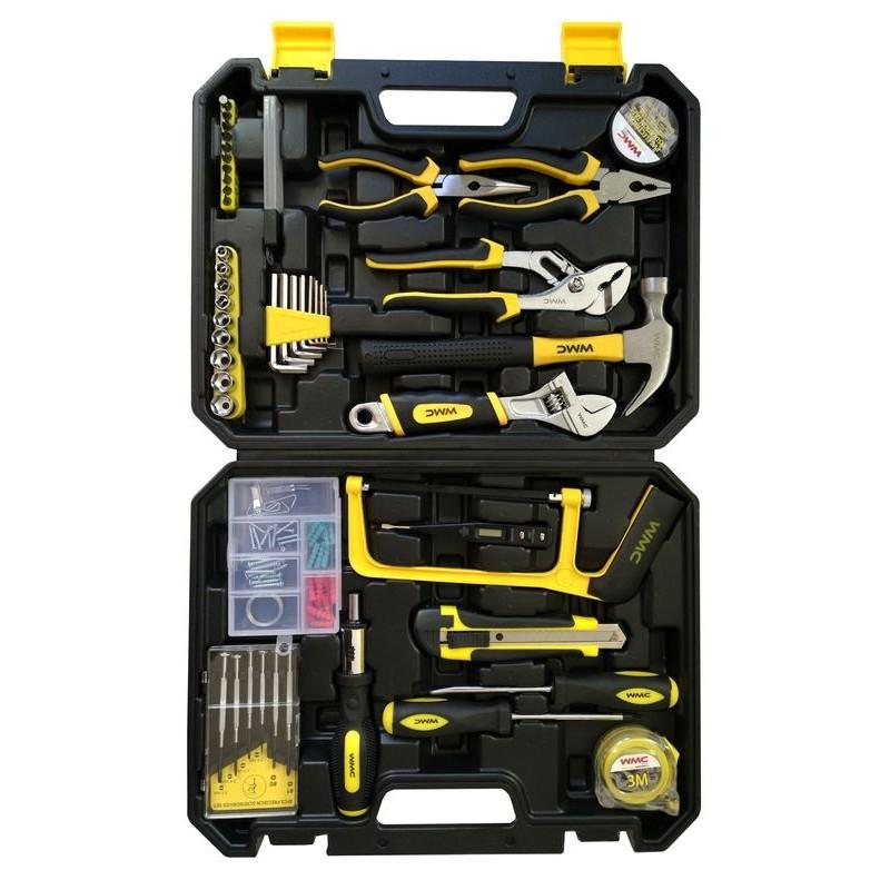 Универсальный набор инструментов WMC Tools 100 предметов 20100