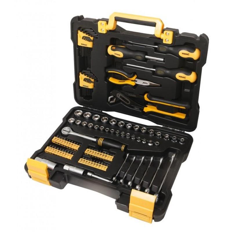 Универсальный набор инструментов WMC Tools 108 предметов 30108
