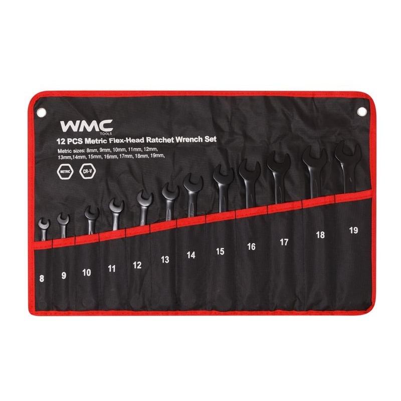 Набор ключей WMC Tools 12 предметов 3012WMC