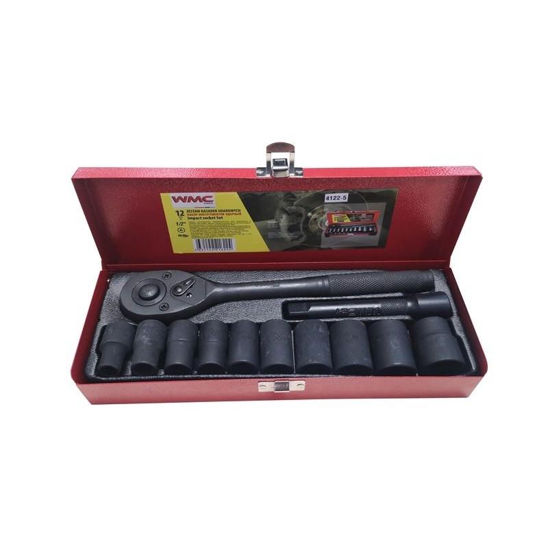 Набор торцевых головок WMC Tools 12 предметов 4122-5