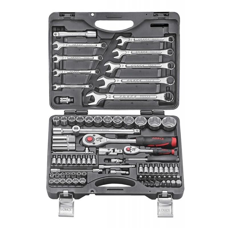 Универсальный набор инструментов Force 82 предмета 4821