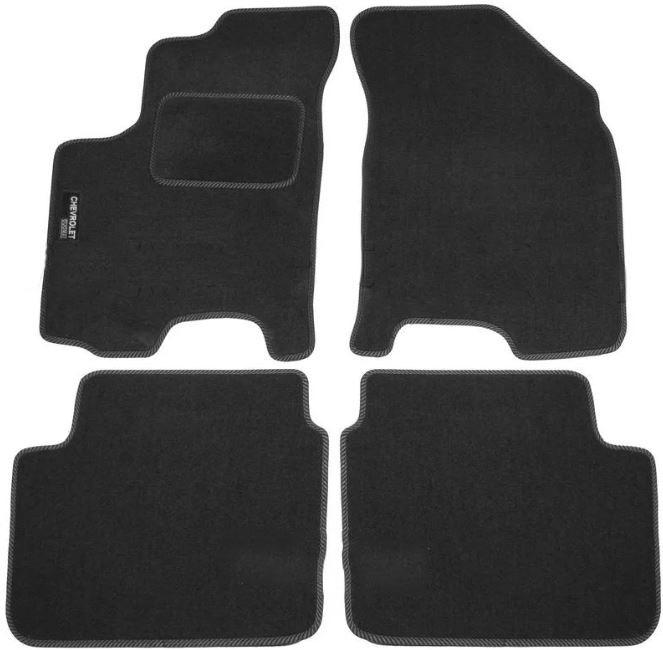 Ковры ворсовые для Chevrolet Aveo (03-12) Duomat
