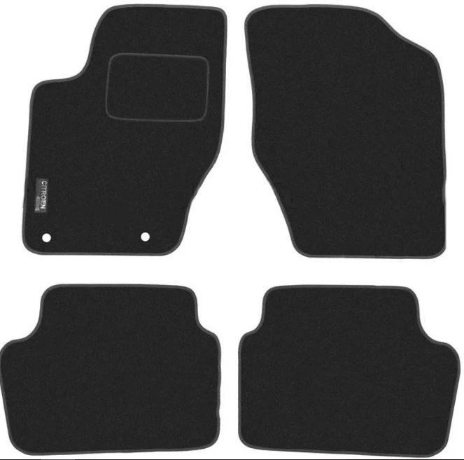 Ковры ворсовые для Citroen C4 (04-11) Duomat