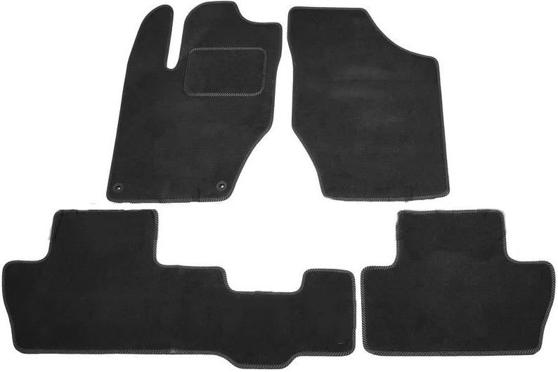 Ковры ворсовые для Citroen C4 (13-) седан Duomat