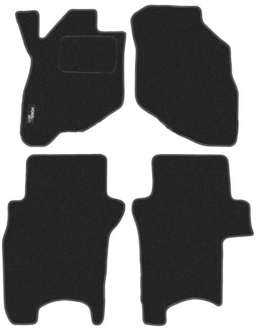 Ковры ворсовые для Honda Jazz / Fit (01-08) Duomat