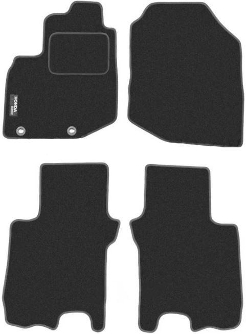 Ковры ворсовые для Honda Jazz / Fit (08-) Duomat