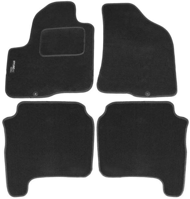 Ковры ворсовые для Hyundai Santa Fe II (06-12) Duomat