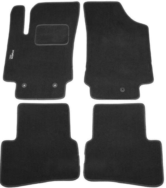 Ковры ворсовые для Hyundai Creta (16-) Duomat