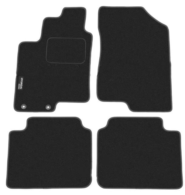 Ковры ворсовые для Hyundai Sonata V (04-10) Duomat