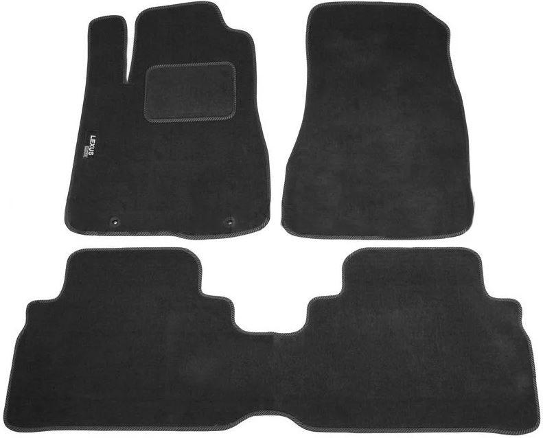 Ковры ворсовые для Lexus RX III (09-15) Duomat