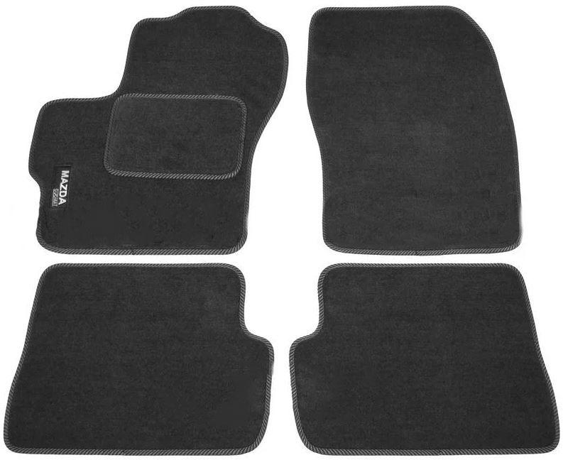 Ковры ворсовые для Mazda 3 I (03-09) Duomat
