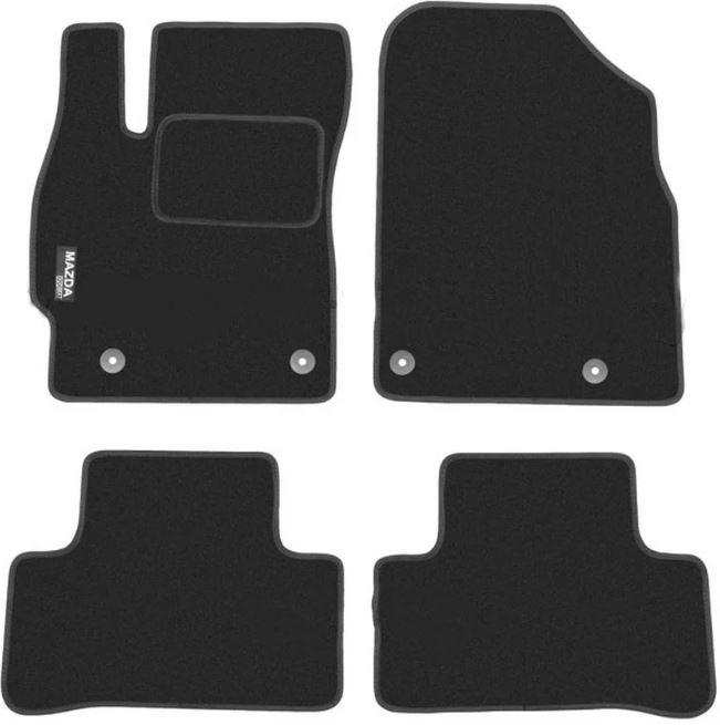 Ковры ворсовые для Mazda CX7 (06-10) Duomat