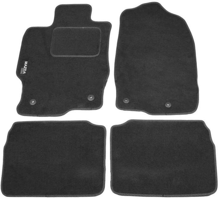 Ковры ворсовые для Mazda 6 II (07-13) Duomat