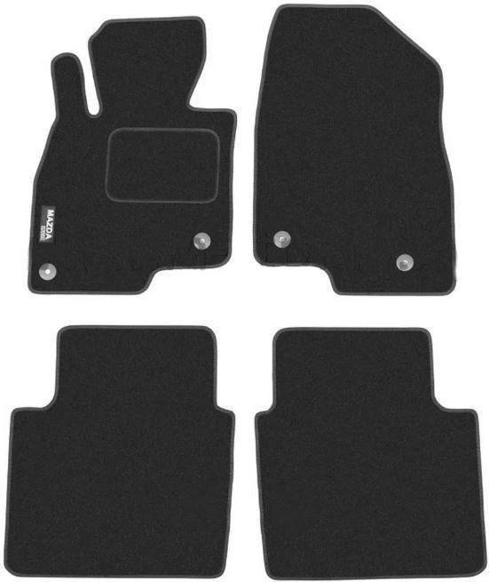 Ковры ворсовые для Mazda 6 III (12-) седан Duomat