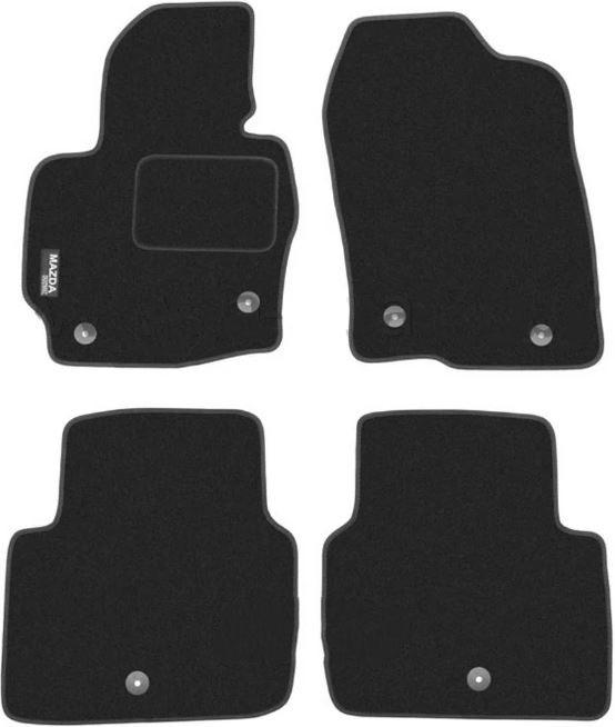 Ковры ворсовые для Mazda CX5 (12-) Duomat