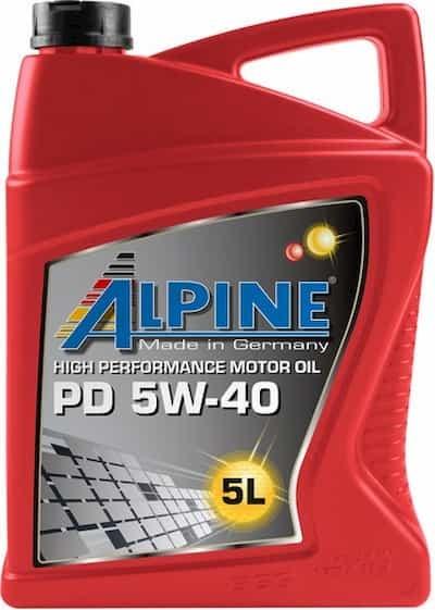 Моторное масло Alpine PD Pumpe-Duse 5W-40 5л