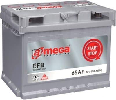Аккумулятор A-mega EFB 65 R (65Ah)