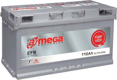 Аккумулятор A-mega EFB 110 R (110 Ah)