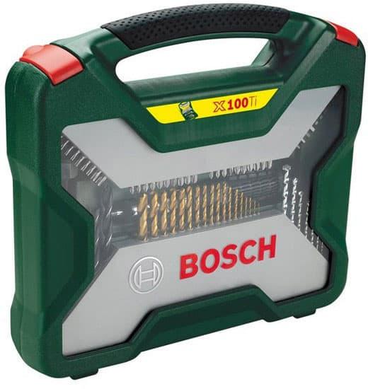Универсальный набор инструментов Bosch Titanium X-Line 100 предметов 2607019330