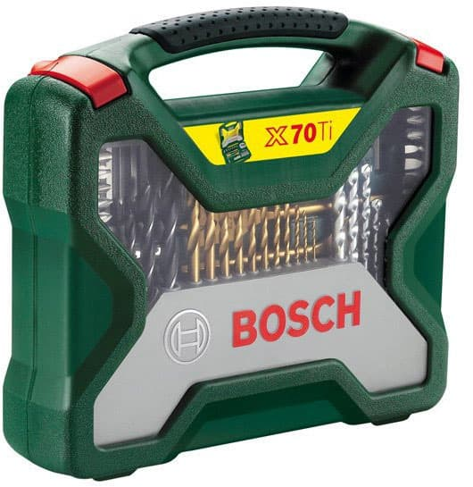 Универсальный набор инструментов Bosch Titanium X-Line 70 предметов 2607019329