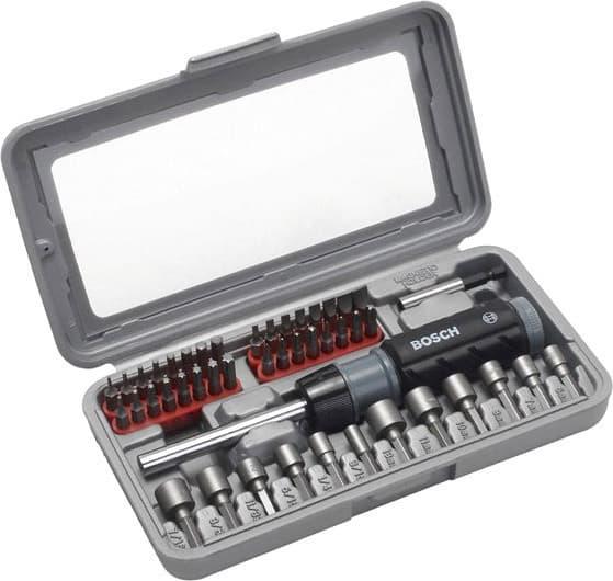 Набор бит Bosch 46 предметов 2607019504
