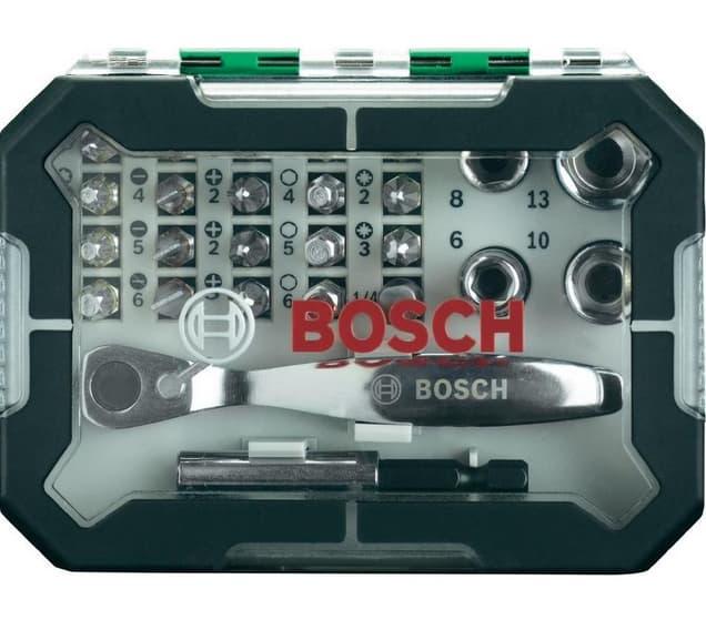 Набор бит Bosch 26 предметов 2607017322