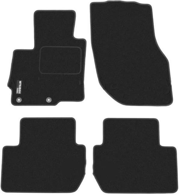 Ковры ворсовые для Mitsubishi Outlander II (06-12) Duomat