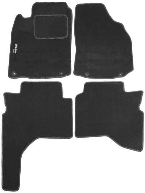Ковры ворсовые для Mitsubishi Pajero Sport I,II (98-) Duomat