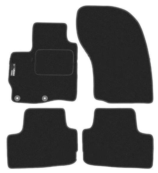 Ковры ворсовые для Mitsubishi ASX (10-) Duomat