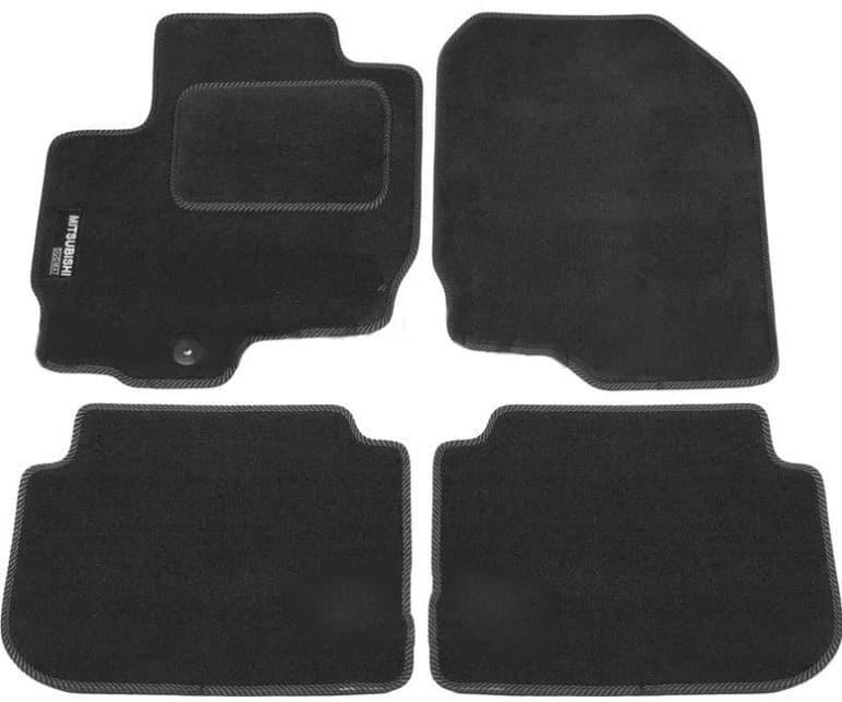 Ковры ворсовые для Mitsubishi Colt VII (04-12) Duomat