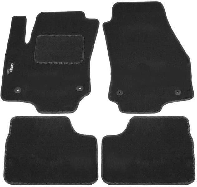 Ковры ворсовые для Opel Astra H (04-09) Duomat